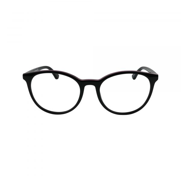 5019 Black Glasses - Front View