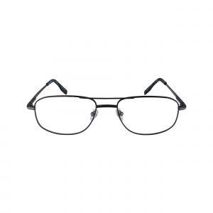 104 Gunmetal Glasses - Front View
