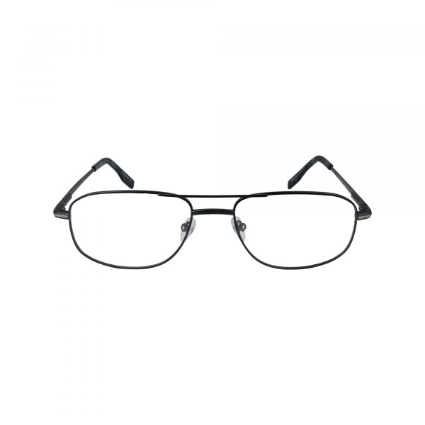 104 Gunmetal Glasses - Front View