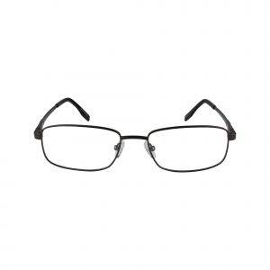 143 Brown Glasses - Front View