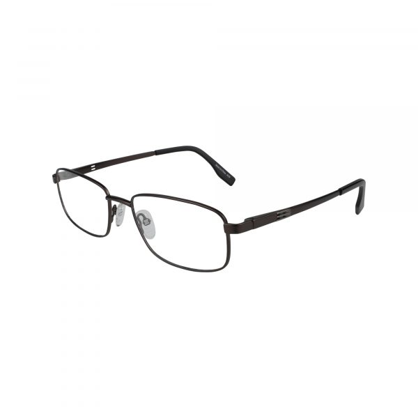 143 Brown Glasses - Side View