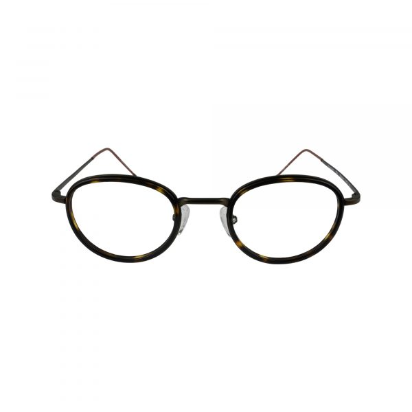154 Brown Glasses - Front View