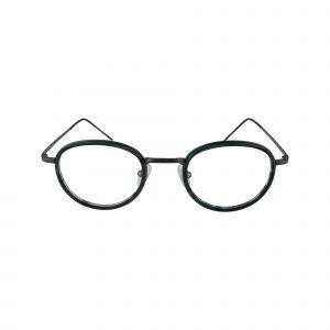 154 Gunmetal Glasses - Front View
