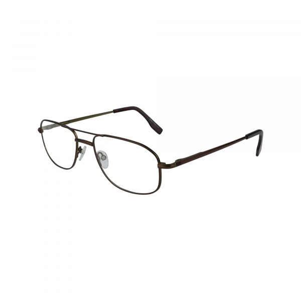 104 Brown Glasses - Side View