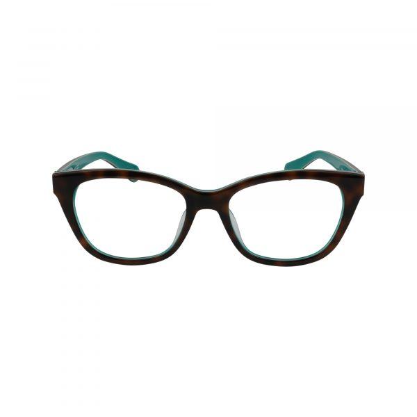 Carolan Brown Glasses - Front View
