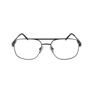 110 Gunmetal Glasses - Front View
