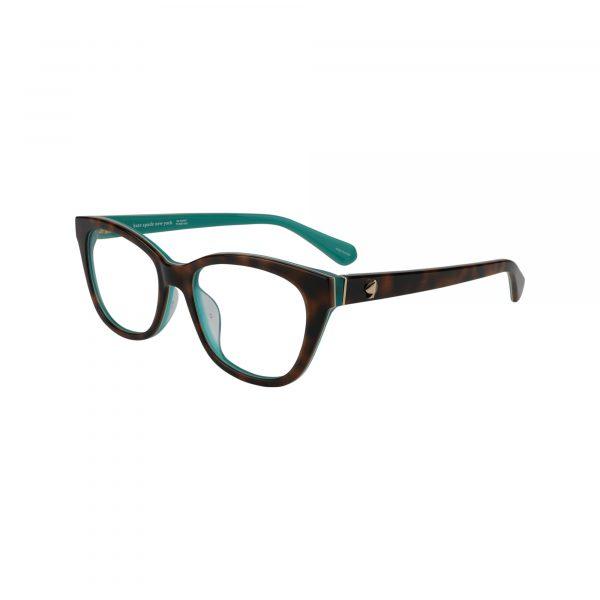 Carolan Brown Glasses - Side View