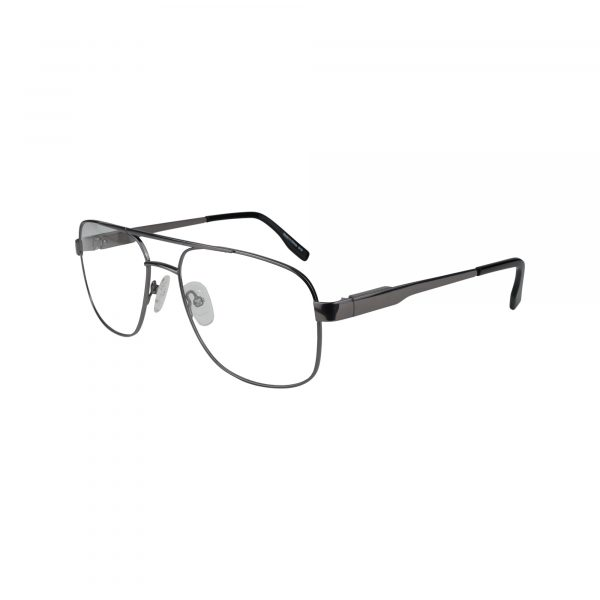 110 Gunmetal Glasses - Side View