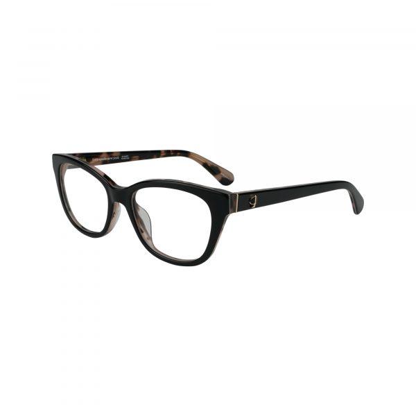 Carolan Black Glasses - Side View