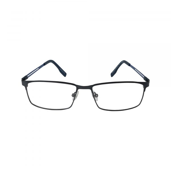 133 Blue Glasses - Front View