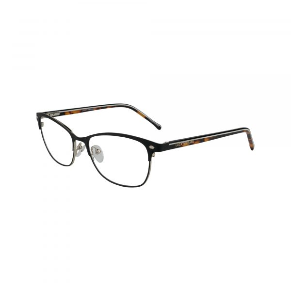 D120 Black Glasses - Side View