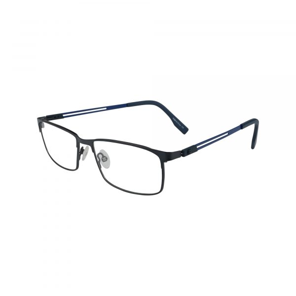 133 Blue Glasses - Side View