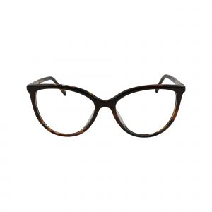 D226 Brown Glasses - Front View