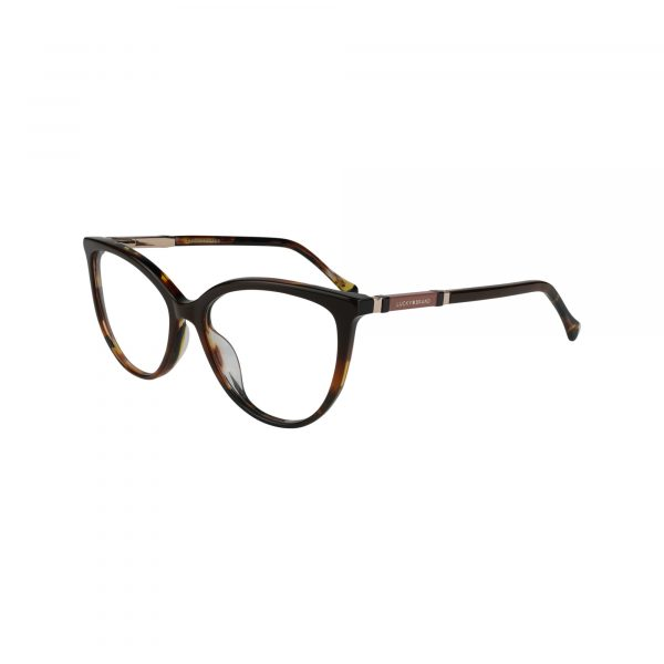 D226 Brown Glasses - Side View