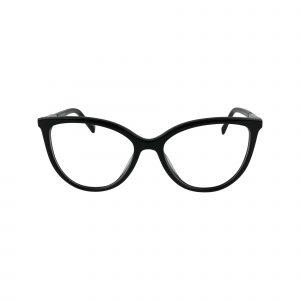 D226 Black Glasses - Front View