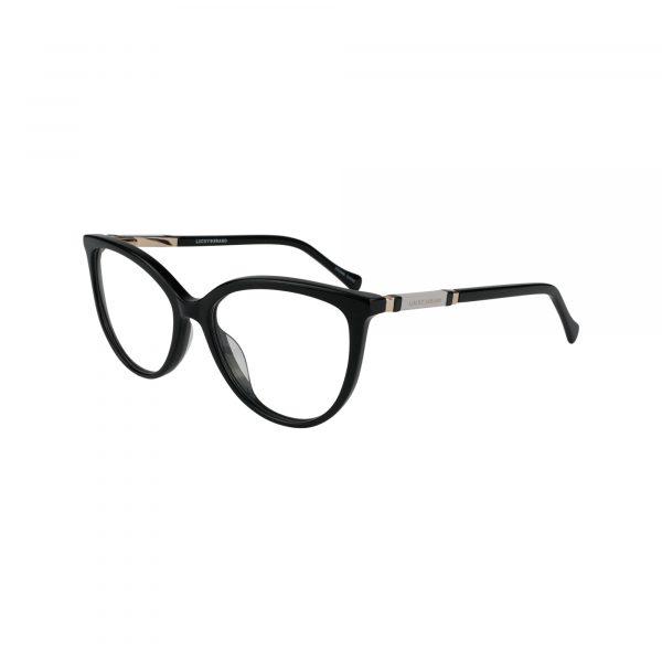 D226 Black Glasses - Side View