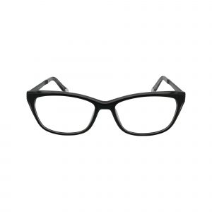 P321 Black Glasses - Front View