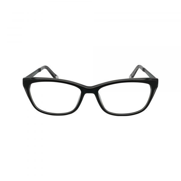P321 Black Glasses - Front View