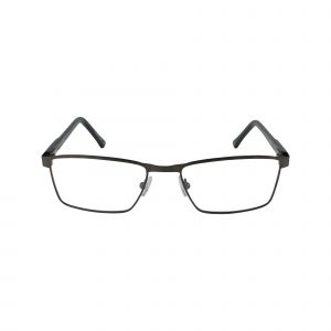 Lonnie Gunmetal Glasses - Front View