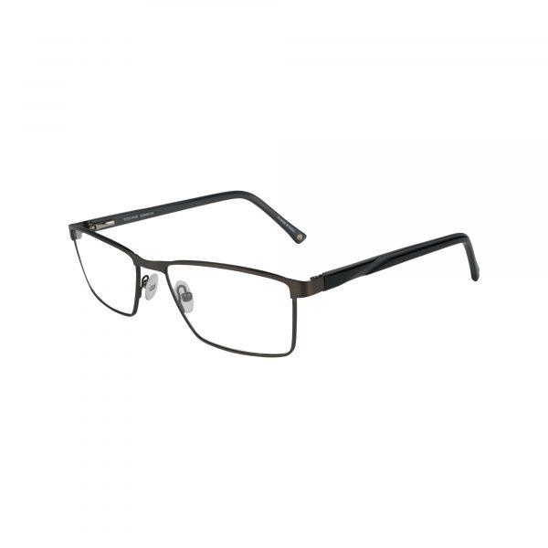 Lonnie Gunmetal Glasses - Side View