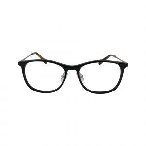 D210 Black Glasses - Front View