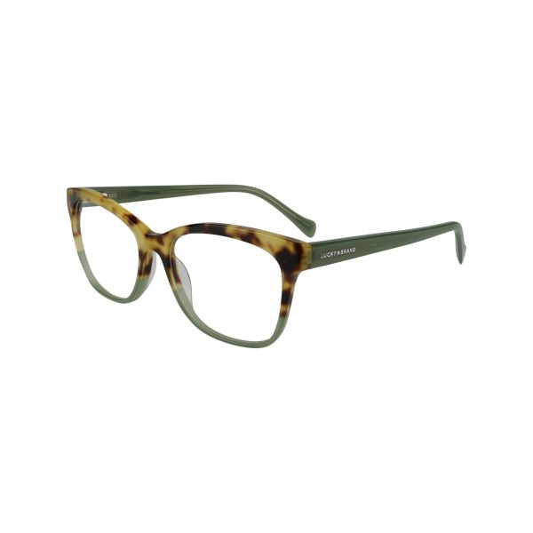 D218 Green Glasses - Side View