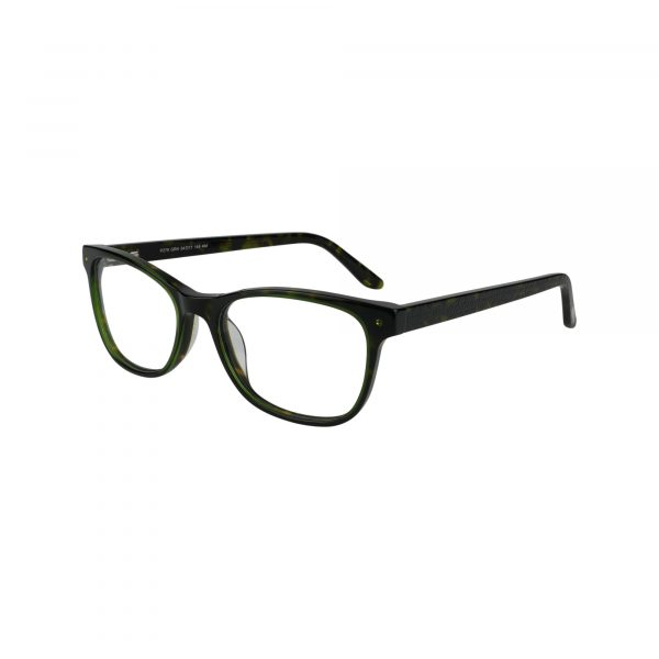 P279 Green Glasses - Side View