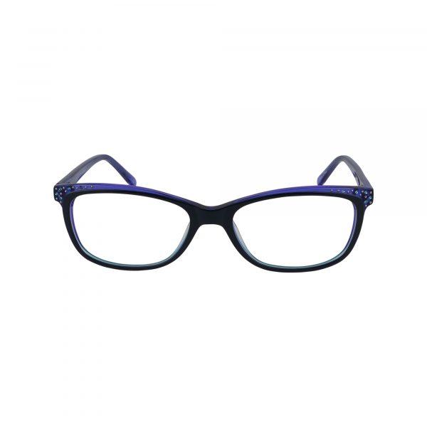 P291 Blue Glasses - Front View