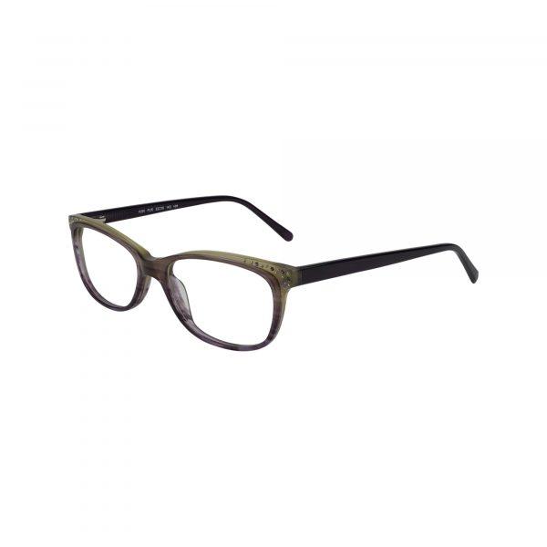 P291 Purple Glasses - Side View