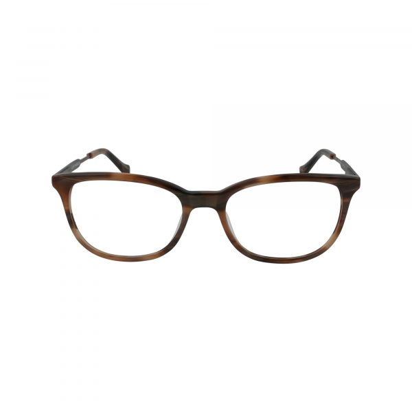D221 Brown Glasses - Front View