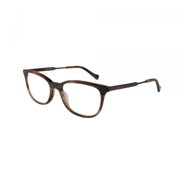D221 Brown Glasses - Side View