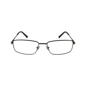 TB1607 Gunmetal Glasses - Front View