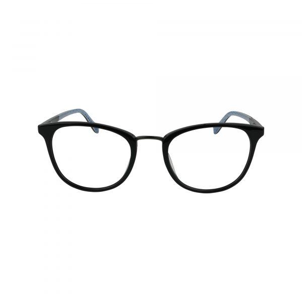 D217 Black Glasses - Front View