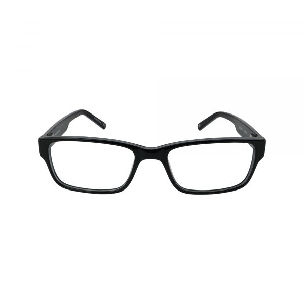 WESTERN Black Glasses - Front View