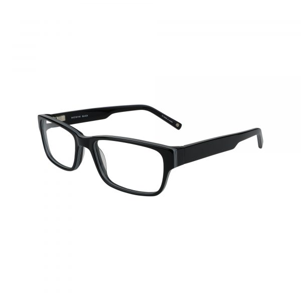 WESTERN Black Glasses - Side View