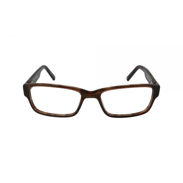 WESTERN Brown Glasses - Front View