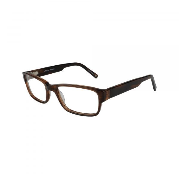WESTERN Brown Glasses - Side View