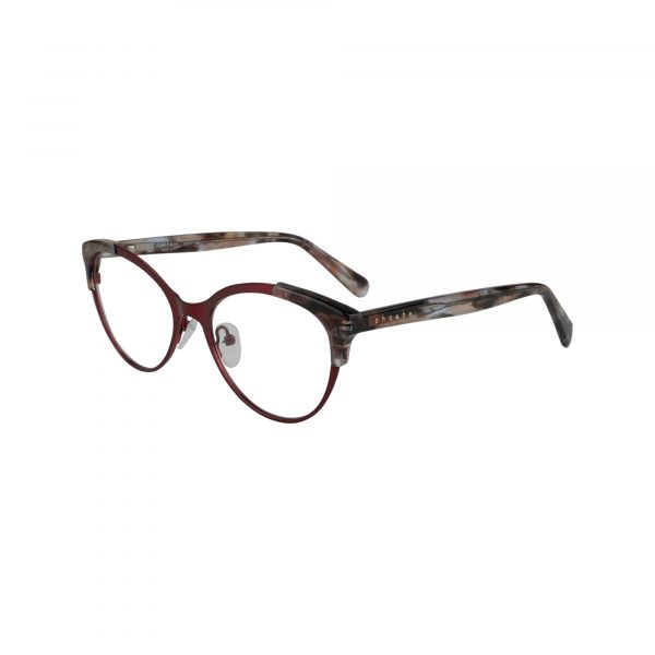 P326 Red Glasses - Side View