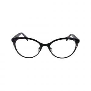 P326 Black Glasses - Front View