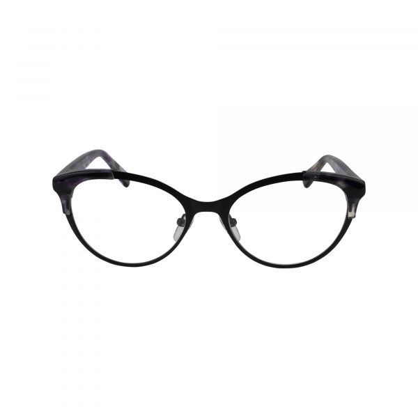 P326 Black Glasses - Front View