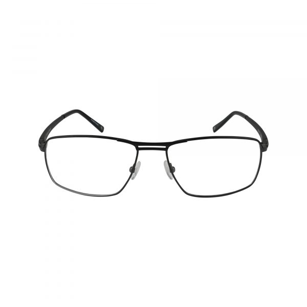 Senagal Black Glasses - Front View