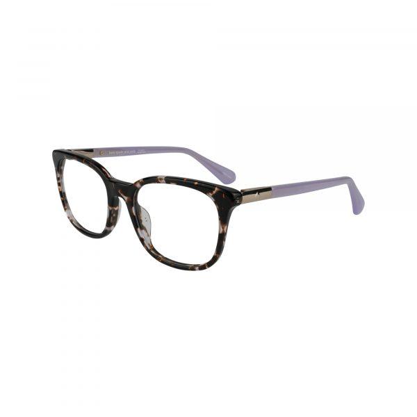 Jalisha Purple Glasses - Side View
