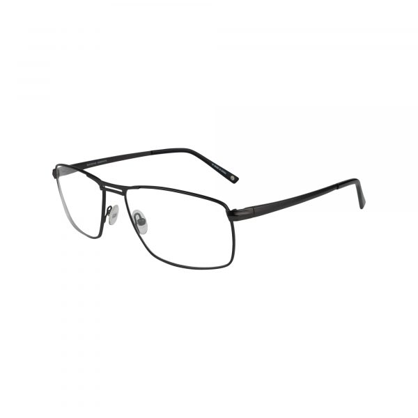 Senagal Black Glasses - Side View