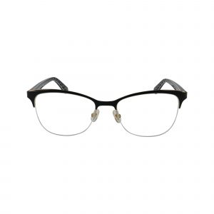 Brieana Black Glasses - Front View
