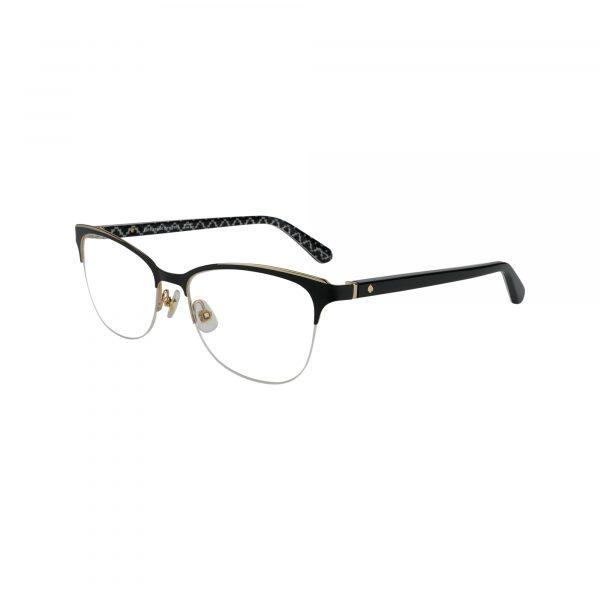 Brieana Black Glasses - Side View