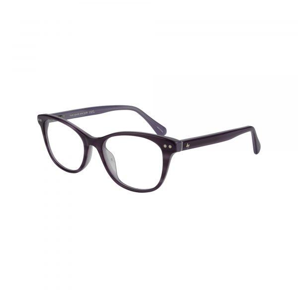 Kamila Purple Glasses - Side View