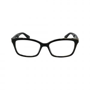 Jerri Black Glasses - Front View