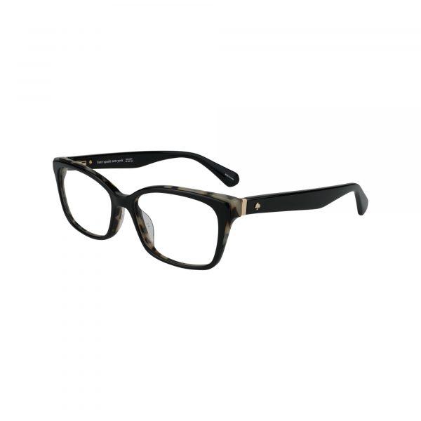 Jerri Black Glasses - Side View