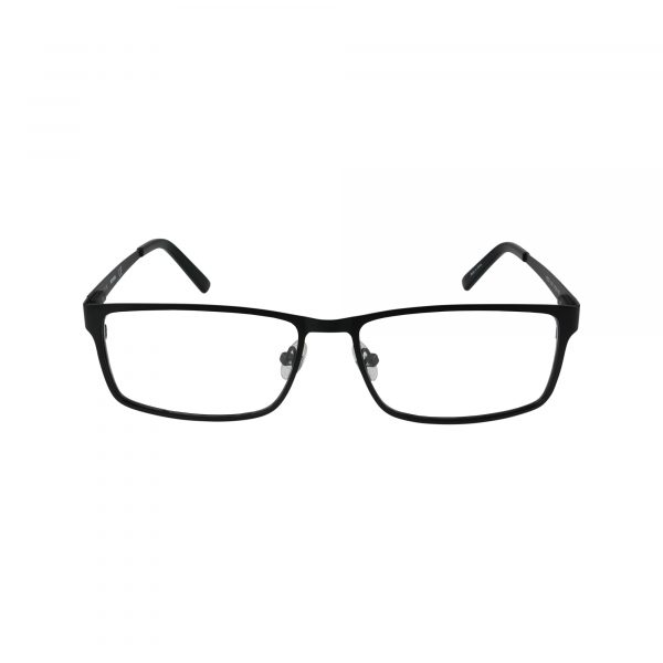 722 Black Glasses - Front View