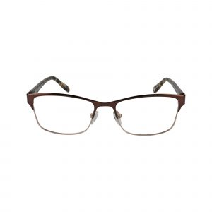 P298 Brown Glasses - Front View